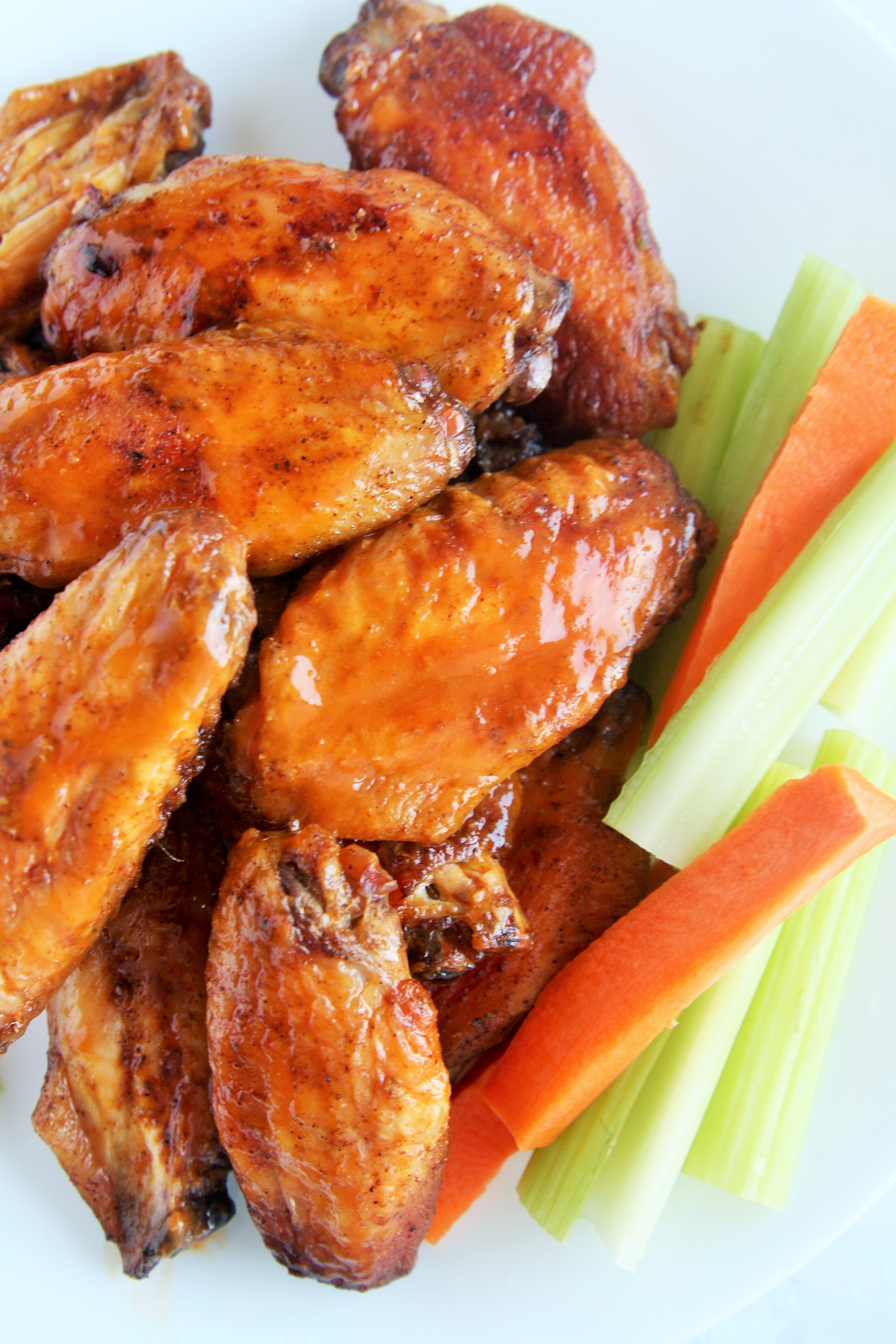 Baked Buffalo Wings The Tasty Bite